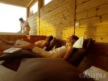 Relax in Spa all'Agriturismo Gruuntaal di Asiago