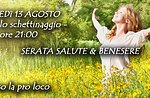 Gesundheit & Wellness-Abend in Mezzaselva, Altopiano di Asiago 13. August 2015