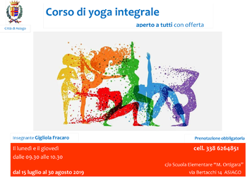 Yoga Asiago 2019