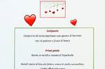 Valentinstag Abendessen bei Kerzenschein im Alpi Restaurant in Foza - 14 Februar 2020