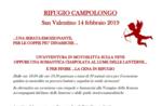 San Valentino al Rifugio Campolongo con escursione in motoslitta o ciaspolata con lanterne e cena romantica - 14 febbraio 2019