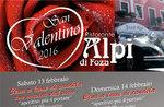Valentinstag im Restaurant Alpen von FOZA, Asiago Hochebene, 13-14 Feb 2016