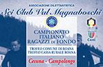 Italienische Meisterschaft 2014 Fonds Jungs, Cesuna-Campolongo am Marz 14,15,16