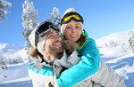 Leichte Flocken 2017: Förderung für Paare mit dem Ski Schule Gallium-12. Februar 2017