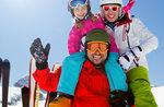 Januar Ski-Promotion für Familien mit der Skischule Val Ant-9 31. Januar 2017 aus der Lärche