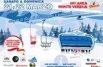 ABOVE THE GAME, HEUTE UND DOMANI - Party beginnt Arbeit für neue Sessellift und Schneeskifahrer bei Verena - 21. und 22. März 2020