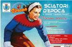 Vintage SKI-Ski-Rennen-Geschichte auf Monte Verena   Hochebene von Asiago 7. April 2019