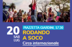 Rodando a Soco - Zirkusshow in Gallio mit dem Argentinischen Zirkus - 20. Juli 2019