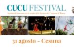 Straßenkünstler in Cesuna für das CuCu Festival 2019 - 31. August 2019