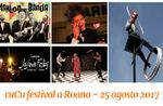 Spettacoli di artisti di strada a Roana per il CuCu Festival - 25 agosto 2017