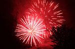 Traditionelle Feuerwerk der Erscheinung des Herrn in Sasso di Asiago-6 Januar 2018