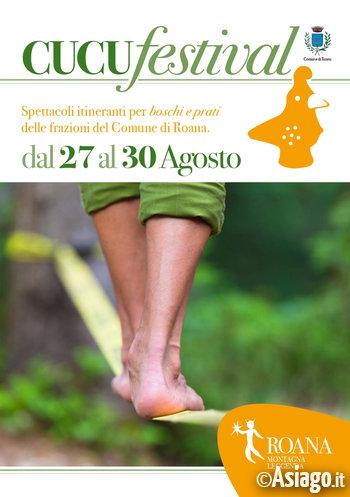 CuCu Festival 2020 sull'Altopiano dei Sette Comuni - Spettacoli itineranti a Roana e frazioni