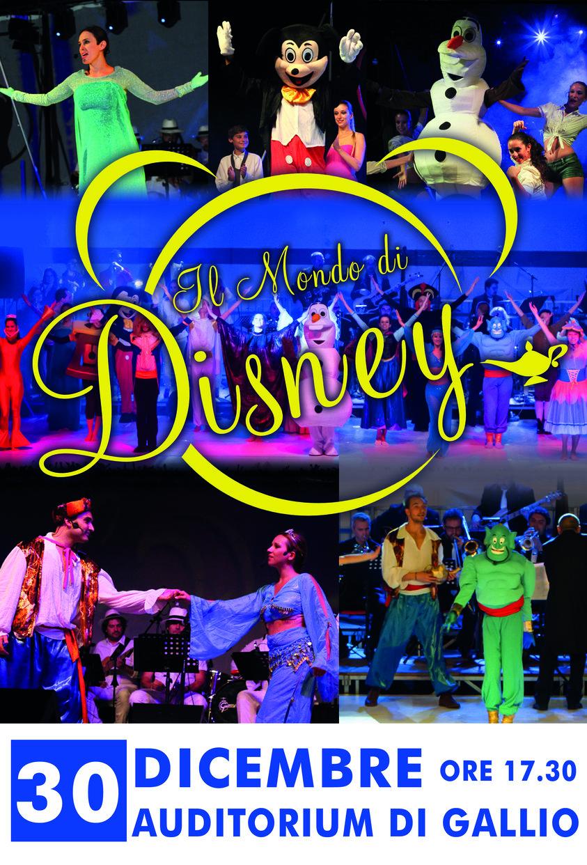 Il mondo di disney spettacolo musicale all 39 auditorium for Mondo selvaggio di cabine disney