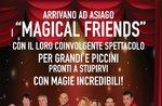 Spettacolo di magia con i Magical Friends ad Asiago, 23 aprile 2017