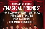 Zaubershow mit magischen Freunde bei Asiago, 23. April 2017