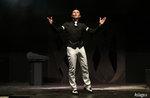 Magic show im Theater von Cesuna mit der Magier Alter Ego, 6. Januar 2017