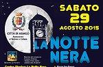 Schwarze Nacht Asiago 2015-Folklore und Tanz in die Nacht in Asiago