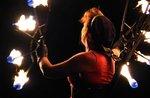 Straße-Show mit Kunstflug und Feuer im Gallium-24 August 2018