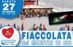 Fiaccolata dei maestri di sci a Val Formica