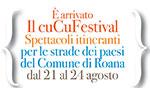 CUCU FESTIVAL Spettacoli itineranti nei paesi del Comune di Roana, 21-24 agosto