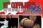 16. ITALIEN CUP AICS Wushu, Kung Fu, Sanda 12. und 13. April 2014 Gallio