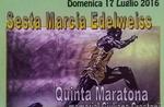 6. Gang EDELWEISS Conco.17 5. Juli Marathon Memorial Giuliana Crestani, 2016