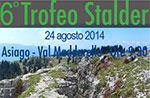 6. TROFEO STALDER-Mountainbike-Rennen in Asiago, Sonntag, 24. August 2014