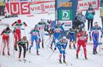 80. nationalen Meisterschaft Ana-Langlauf Asiago, 14-15 Februar 2015