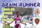 Brain Runner, Fiamme Oro Camp 2016 ad Asiago il 4 agosto 2016