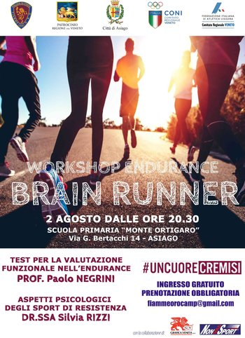 Brain Runner ad Asiago 2017