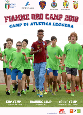 Fiamme oro camp 2016 Asiago