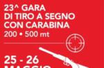 23^ Gara di tiro a segno con carabina in loc. Valbella, Gallio - 25 e 26 maggio 2019