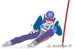 Gara di sci al Verena