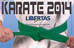 3 ª Tappa Trophy Interregionale Libertas 2014 für eine Karate ein Gallio