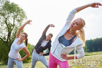 ginnastica in gruppo