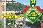 34. Tour der mittleren Brenta mit Ankunft in Gallio, Asiago Plateau - 14. Juli 2019