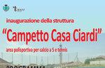 "Einweihung ""Campetto Casa Ciardi""-Sportareal in Canove, 23. Juli 2016"
