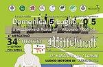 34. MITTELWALT-nicht-kompetitiver Wettlauf, März 5. Juli 2015 Roan