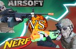 Airsoft vs Nerf - Team Challenge in Gallio - 11. August 2019