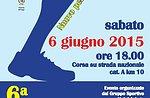 6 ^ Sleghe Lauf Stadt von Asiago, Katze-Wettlauf. 10 km, Samstag, 6. Juni 2015