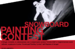 Snow board contest