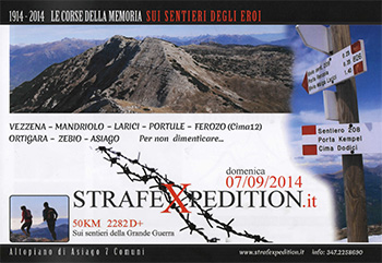 1ª Strafexpedition Altopiano di Asiago 7 Comuni 2014