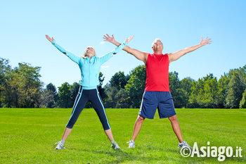 stretching e ginnastica allaperto