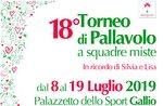 18° Memorial Silvia &Lisa - Torneo di pallavolo a Gallio - Dall