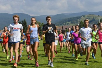 Training Camp Fiamme Oro ad Asiago