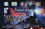 Vaca Mora 2017-8. Nacht März auf der Straße der alten Seilbahn in Treschè Cesuna Canove di Roana