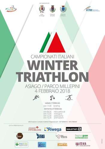 Winter triathlon Asiago