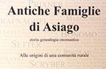 Presentazione volume ANTICHE FAMIGLIE DI ASIAGO di Massimo Paganin, 30/05 Asiago