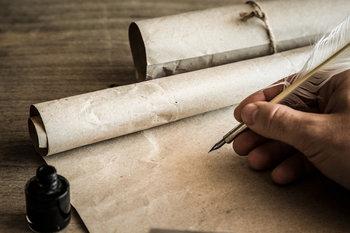 pergamena e penna doca