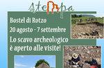 Visite agli scavi archeologici sul Bostel di Rotzo, 20 agosto-7 settembre